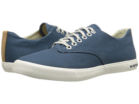 SeaVees - 08/63 Hermosa Plimsoll Banyan (Orion Blue) Men's Shoes