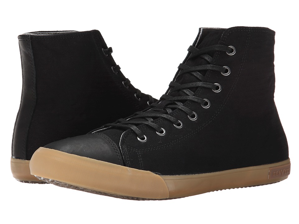 SeaVees - 08/61 Army Issue High Mojave (Black) Men's Shoes