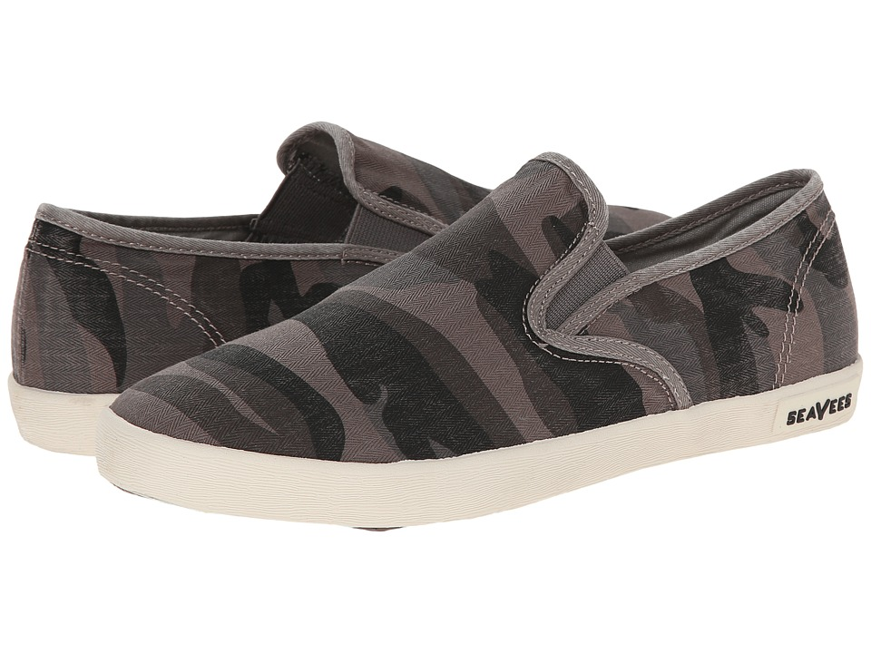 SeaVees 02/64 Baja Slip On Mojave (Grey Camouflage) Women
