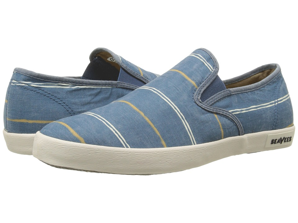 SeaVees 02/64 Baja Slip On Break Line (Orion Blue) Women