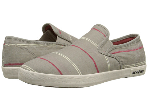 SeaVees - 02/64 Baja Slip On Break Line (Moon Rock) Women's Slip on Shoes