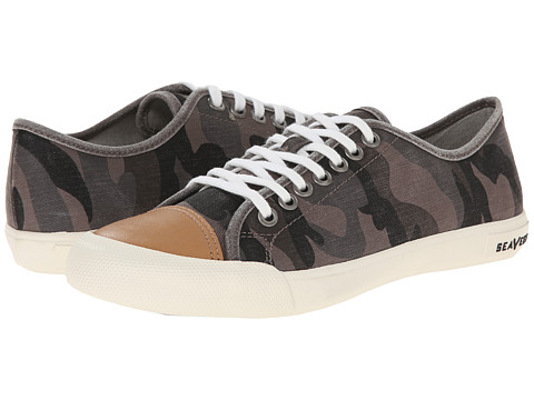 SeaVees - 08/61 Army Issue Low Mojave (Grey Camouflage) Women's Shoes