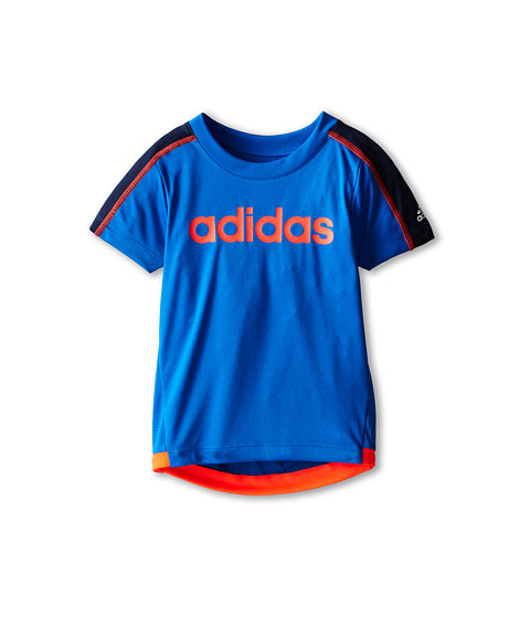 adidas Kids - Clima Energy Top (Toddler/Little Kids) (Adi Super Blue) Boy