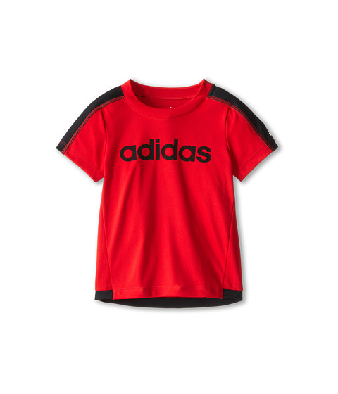 adidas Kids - Clima Energy Top (Toddler/Little Kids) (Light Scarlet) Boy