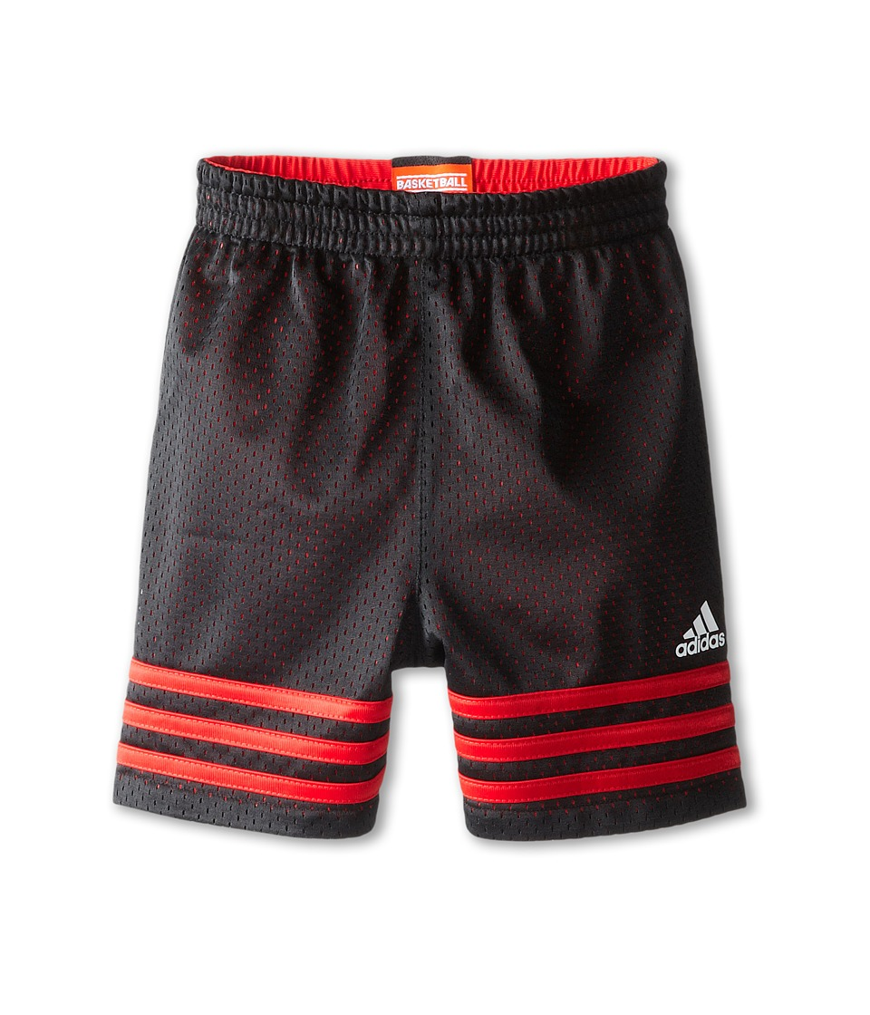 adidas Kids - Team Short (Toddler/Little Kids) (Black) Boy
