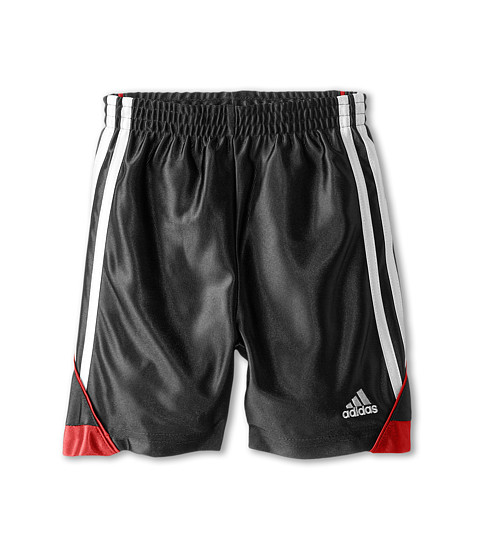 adidas Kids - Speed Short (Toddler/Little Kids) (Black) Boy's Shorts
