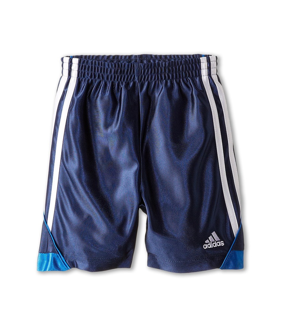 adidas Kids - Speed Short (Toddler/Little Kids) (Dark Indigo/Super Blue) Boy's Shorts