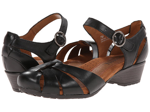 Cobb Hill - Gina (Black) Women's 1-2 inch heel Shoes