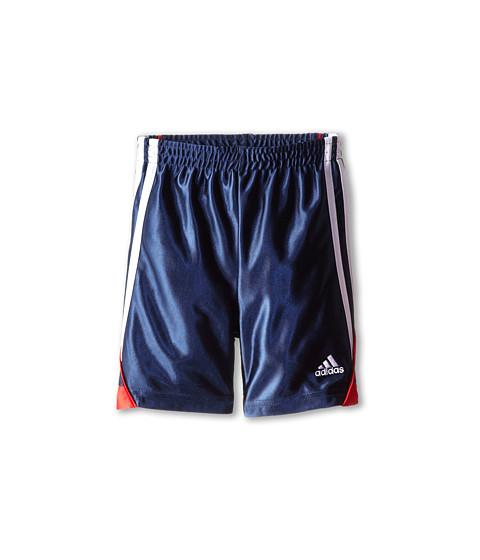 adidas Kids - Speed Short (Toddler/Little Kids) (Dark Indigo/Light Scarlet) Boy's Shorts