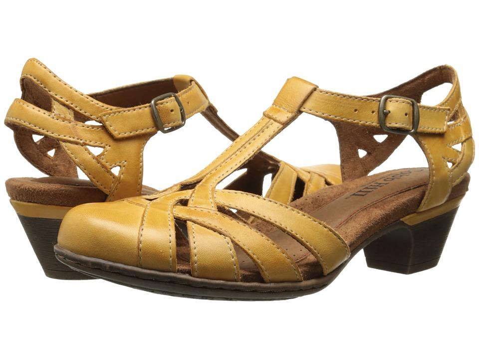 Rockport Cobb Hill Collection - Cobb Hill Aubrey (Yellow) Women's 1-2 inch heel Shoes