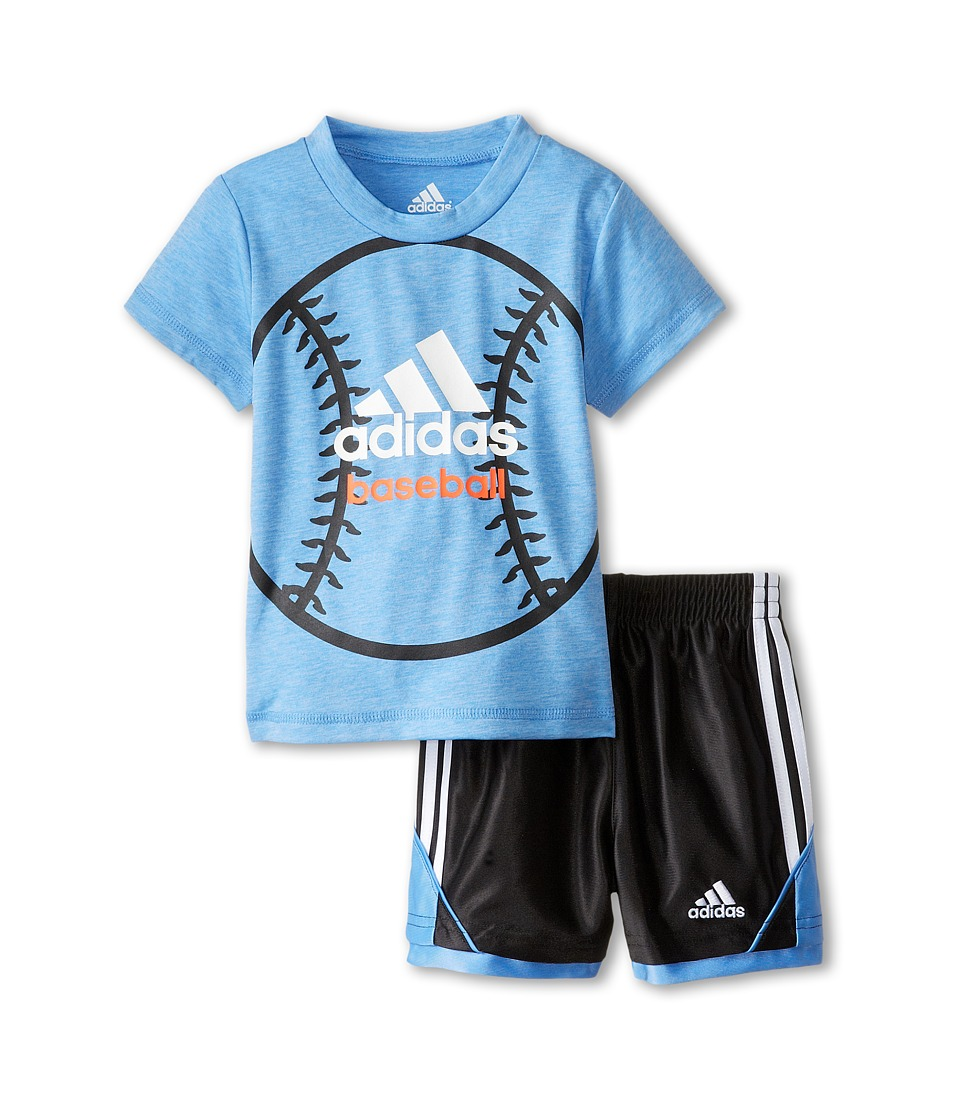 adidas Kids - Best Ever Set (Infant) (Marina Heather) Boy
