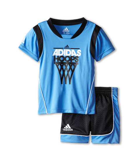 adidas Kids - Rival Set (Infant) (Marina) Boy's Active Sets