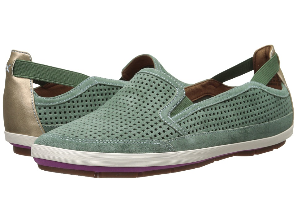 Rockport Cobb Hill Collection - Tara (Mint) Women's Slip on Shoes