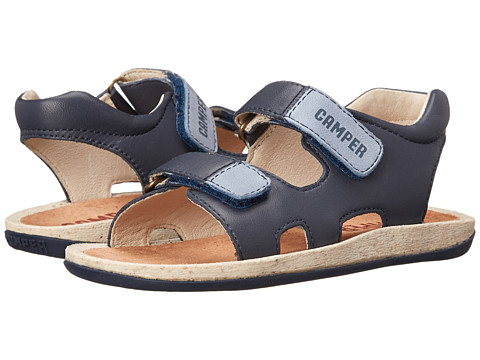 Camper Kids - Bicho (Little Kid) (Navy) Boy's Shoes