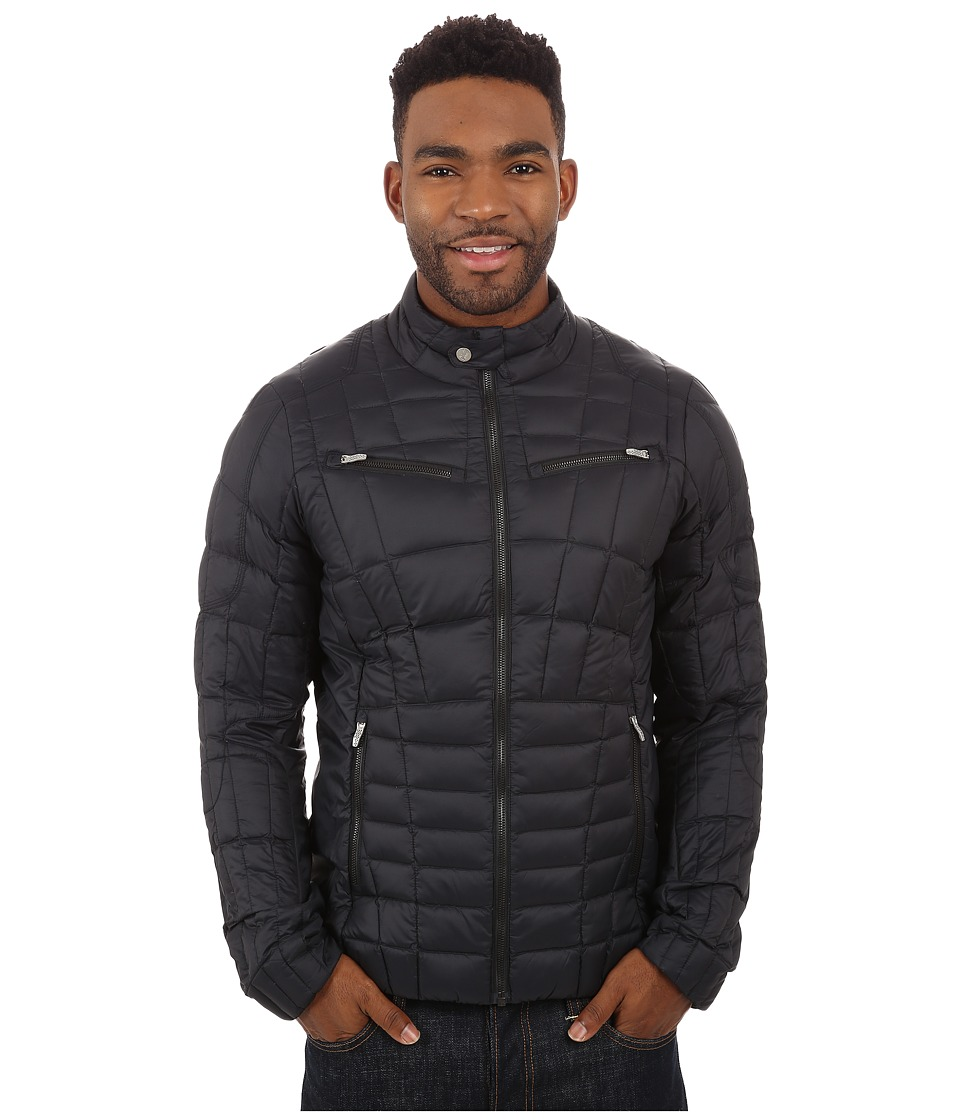 Spyder - Kompressor Down Jacket (Black) Men's Coat