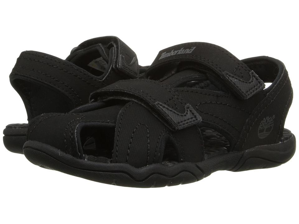 Timberland Kids - Adventure Seeker Closed Toe Sandal (Toddler/Little Kid) (Blackout) Boys Shoes