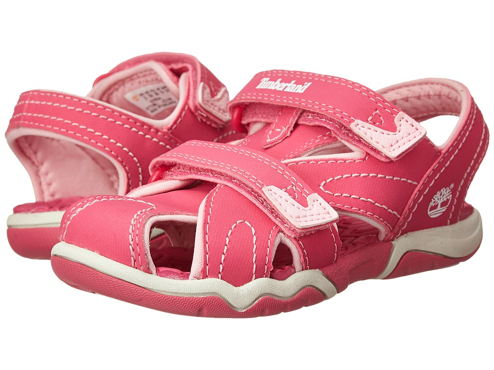 Timberland Kids - Adventure Seeker Closed Toe Sandal (Toddler/Little Kid) (Pink) Girl's Shoes