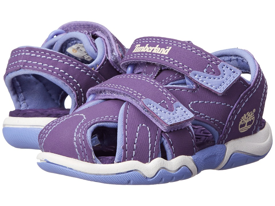 Timberland Kids - Adventure Seeker Closed Toe Sandal (Toddler/Little Kid) (Purple) Girl's Shoes