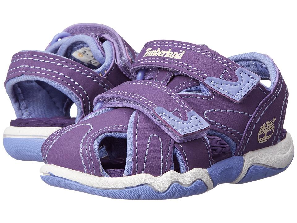 Timberland Kids - Adventure Seeker Closed Toe Sandal (Little Kid) (Purple) Girl's Shoes