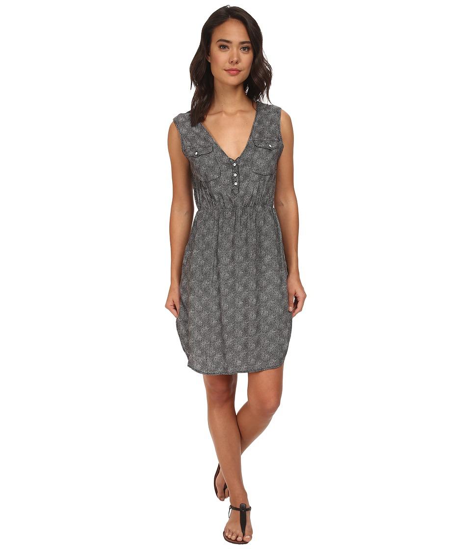 Burton - Turnstone Dress (True Black Floral Stripe) Women's Dress