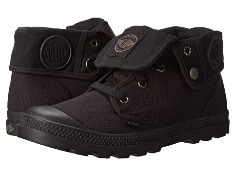 Palladium - Baggy Low LP (Black/Black) Women's Lace-up Boots