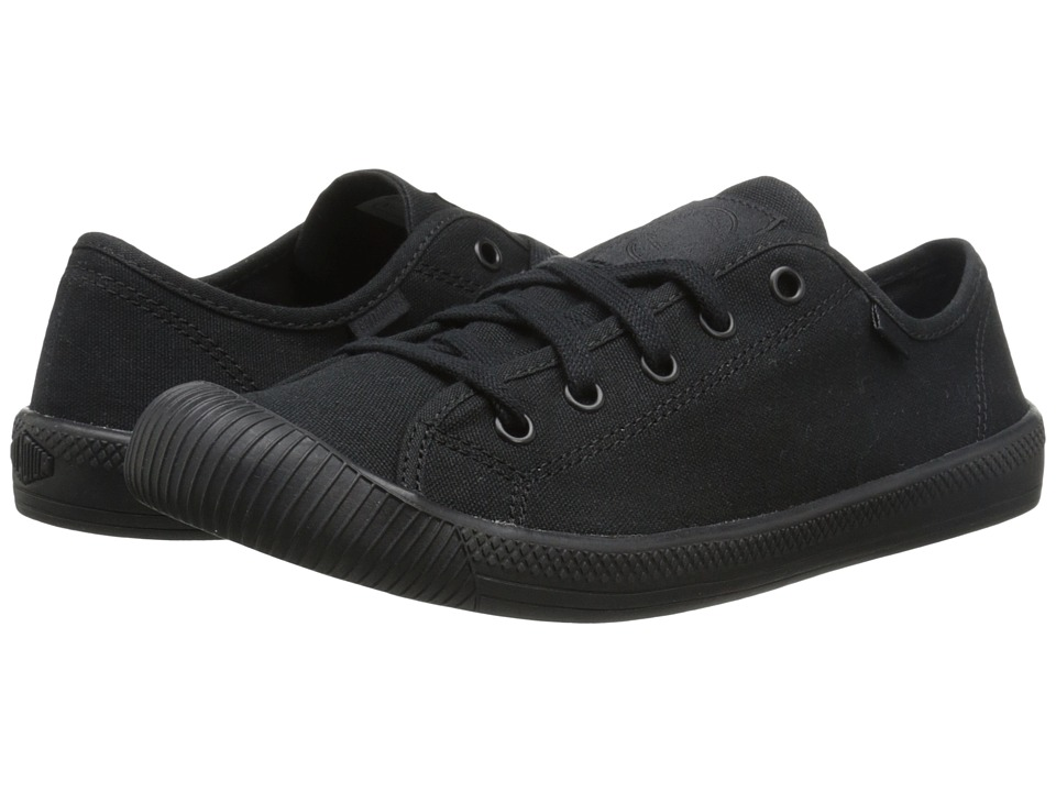 Palladium - Flex Lace (Black/Black) Women's Lace up casual Shoes