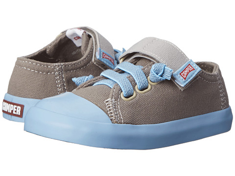 Camper Kids - Peu Rambla (Toddler) (Light Pastel Grey) Kid's Shoes