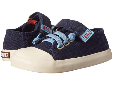 Camper Kids - Peu Rambla (Toddler) (Navy) Kid's Shoes