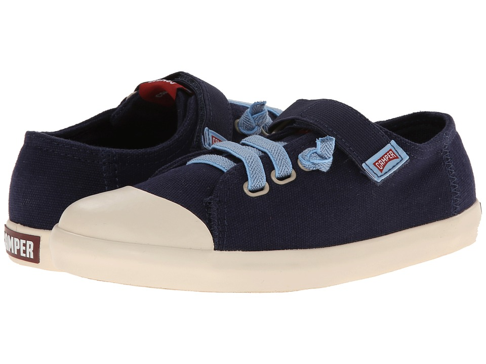 Camper Kids - Peu Rambla (Little Kid) (Navy) Kid's Shoes
