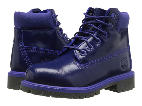 Timberland Kids - 6 Premium Waterproof Boot (Little Kid) (Purple Shine) Girls Shoes