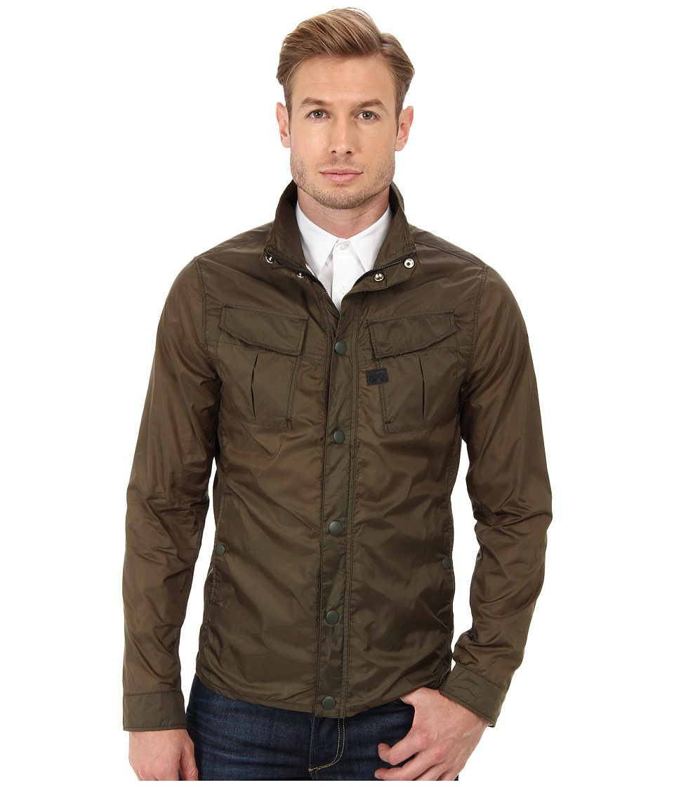G-Star - Filch Camo Overshirt in Myrow Nylon (Combat) Men's Coat