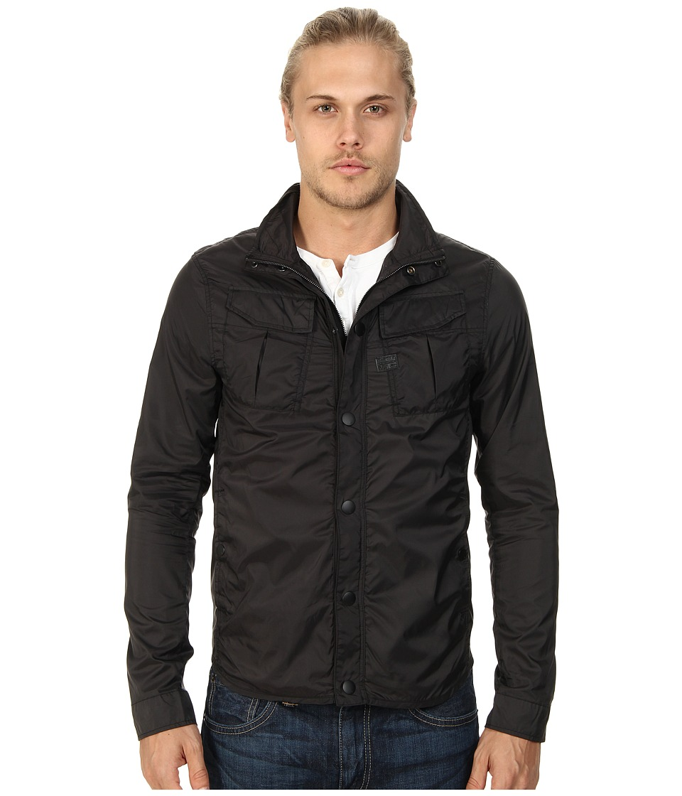 G-Star - Filch Camo Overshirt in Myrow Nylon (Raven) Men's Coat