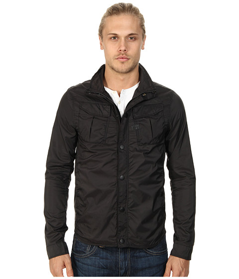 G-Star - Filch Camo Overshirt in Myrow Nylon (Raven) Men