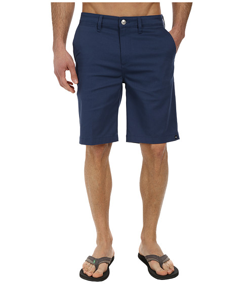 Quiksilver - Union Chino Walkshort (Dark Denim) Men's Shorts