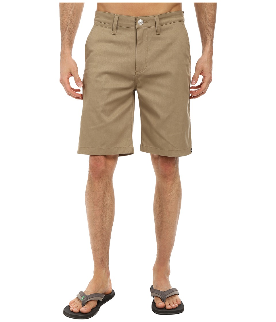 Quiksilver - Union Chino Walkshort (Elmwood) Men's Shorts