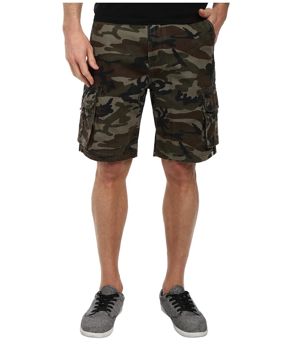 Quiksilver - Deluxe Cargo Short (Camoflage) Men's Shorts