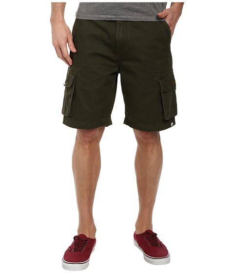 Quiksilver - Deluxe Cargo Short (Forest Night) Men