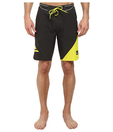 Quiksilver - AG47 New Wave Bonded 19 Boardshort (Tarmac) Men's Swimwear