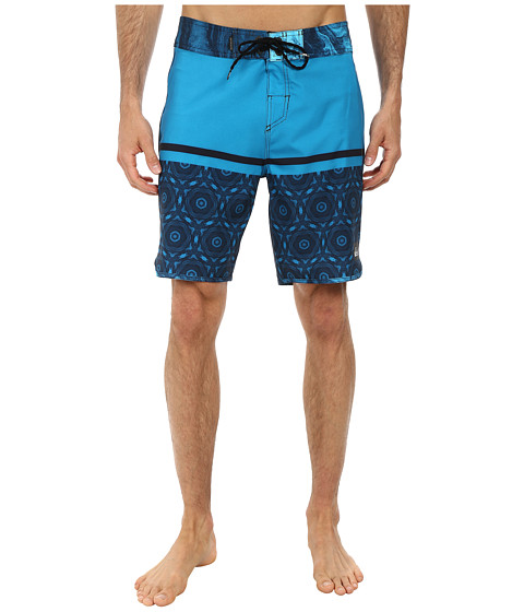 Quiksilver - AG47 Half Block 19 Boardshort (Hawaiian Ocean) Men's Swimwear