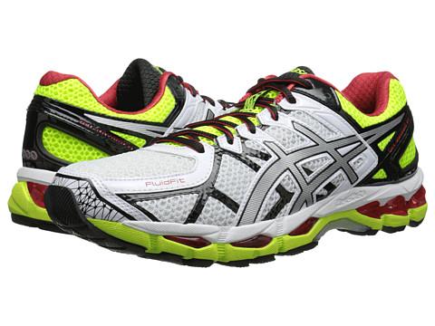 ASICS - GEL-Kayano 21 (White/Lightning/Flash Yellow) Men's Running Shoes