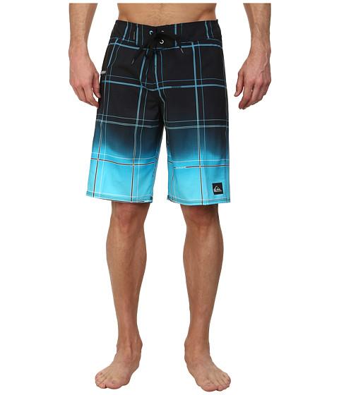 Quiksilver - Electric Space Boardshort (Neon Blue) Men's Swimwear