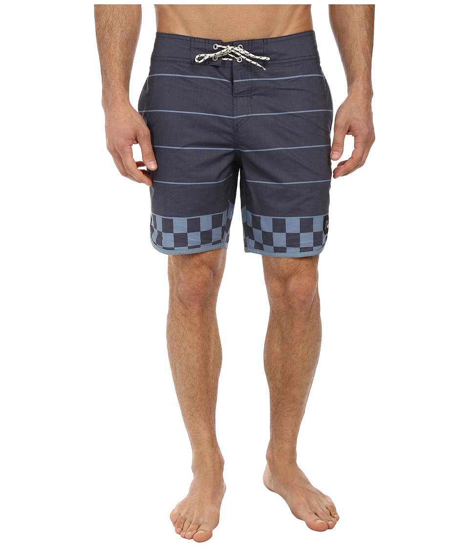 Quiksilver - Brigg Scallop 18 Boardshort (Navy Blazer) Men