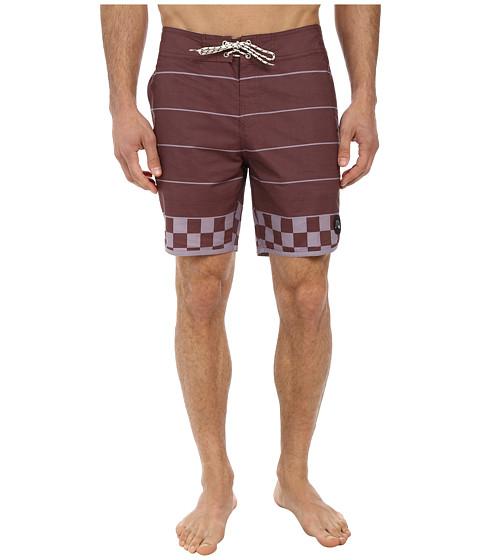 Quiksilver - Brigg Scallop 18 Boardshort (Sassafras) Men's Swimwear