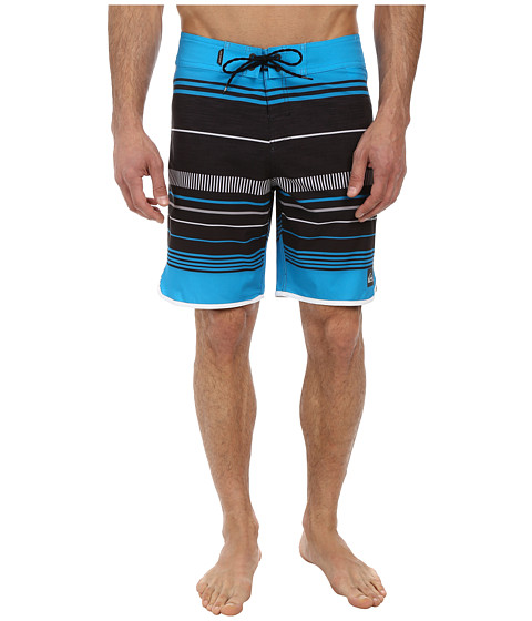 Quiksilver - AG47 Pacific Stripe 19 Boardshort (Hawaiian Ocean) Men
