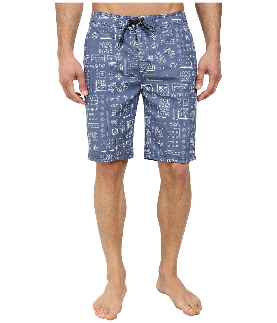 Element - Abbot 20 Boardshort (Cobalt/Cobalt/Academy) Men's Swimwear