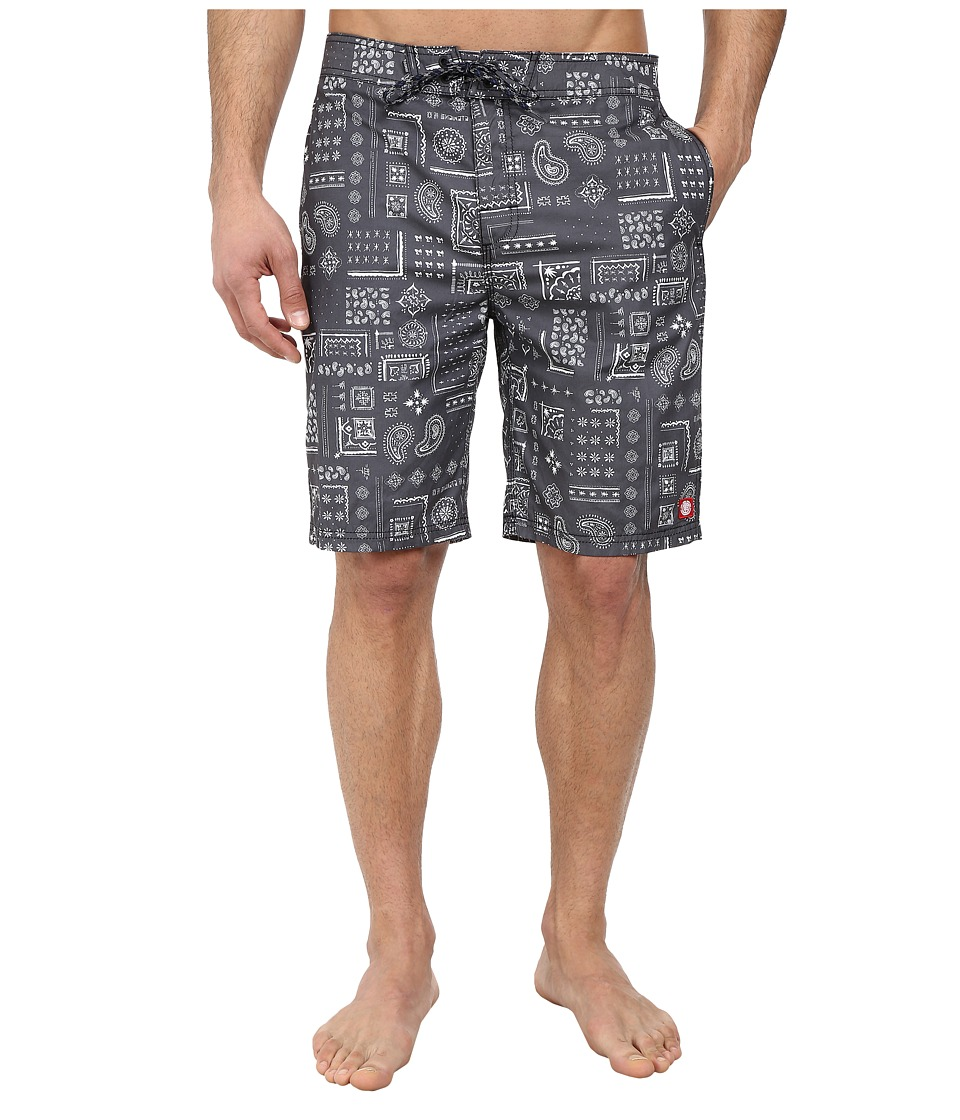 Element - Abbot 20 Boardshort (Black) Men's Swimwear