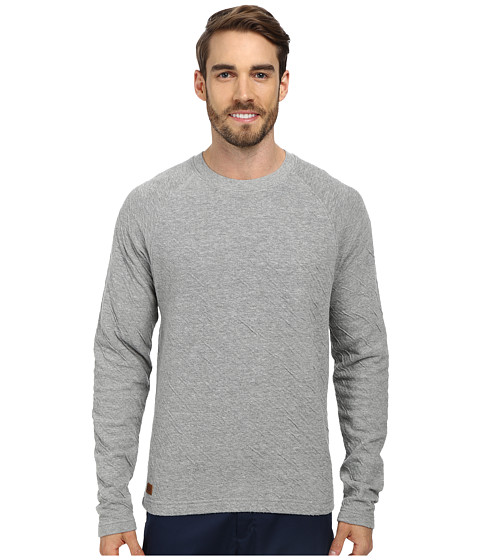 J.A.C.H.S. - Crew Neck Long Sleeve Knit (Grey) Men