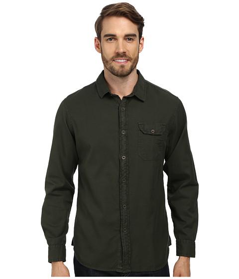 J.A.C.H.S. - One Pocket Garment Dye with Ribbon Button (Green) Men's Clothing