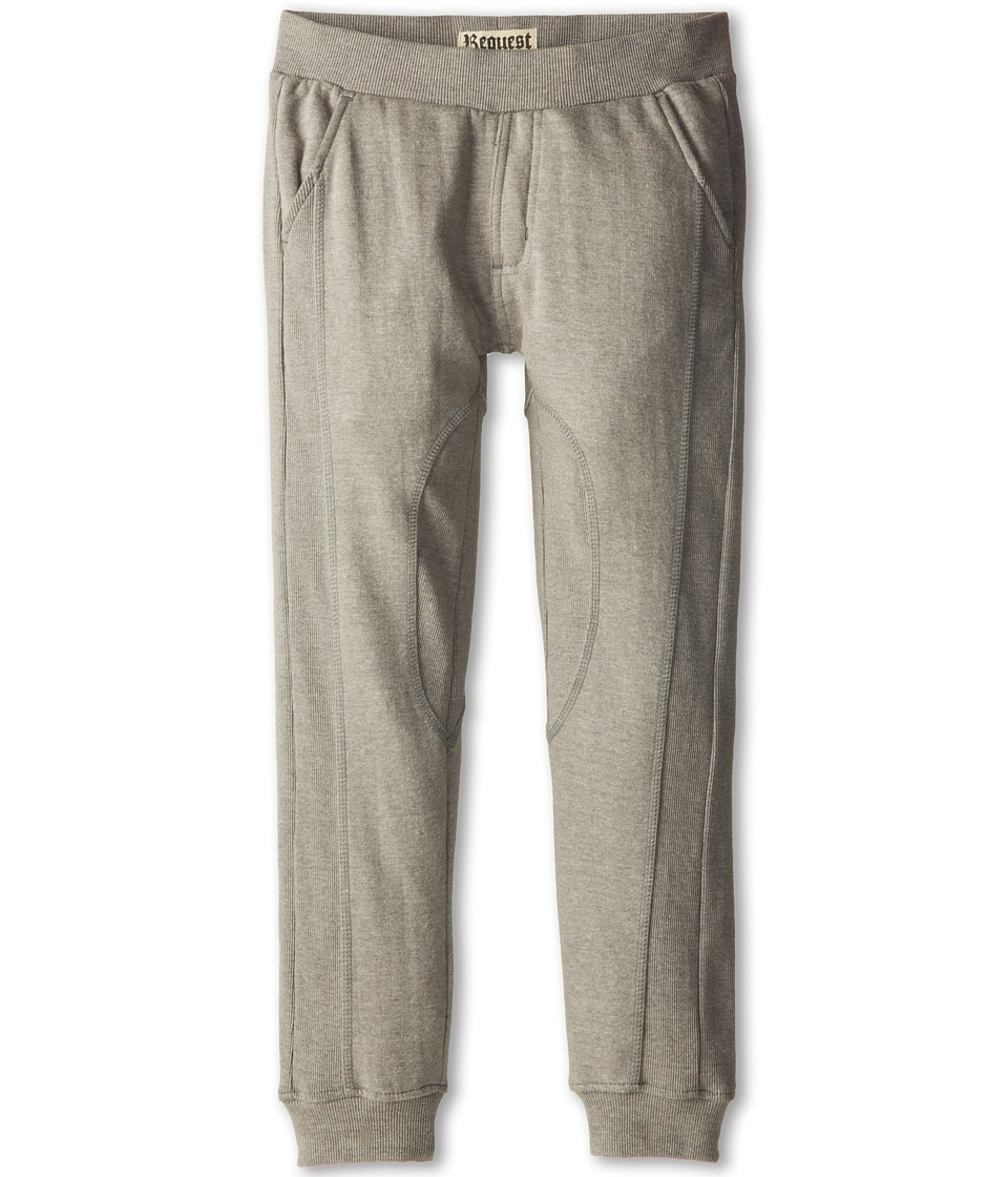 Request Kids - Josh Jogging Pants (Big Kids) (Grey Heather) Boy's Casual Pants