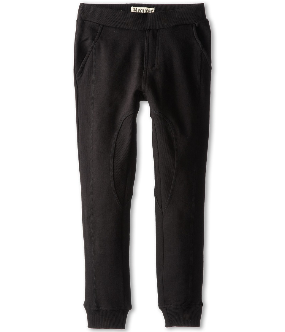 Request Kids - Josh Jogging Pants (Big Kids) (Black) Boy's Casual Pants